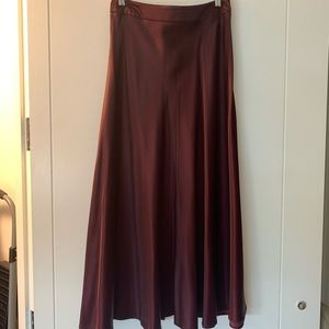 Zara skirt, size S, color burgundy